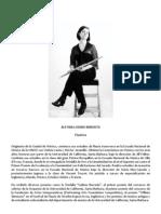 Alethia Lozano - Flautista