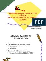 Epidemiologia Descriptiva Basica en Trabajo Social