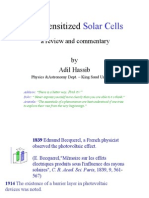Dye Sensitized Solar Cells