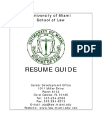 Sample Law Resumes