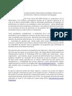 Comunicado de Prensa sobre elecciones Rector 2011