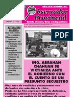 Observador Provincial - Setiembre 2011