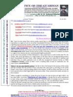 111024- Alex Chernov Governor Victoria & Others - FOI-Etc