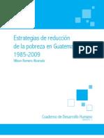 Cuaderno Pobreza Guatemala 2010