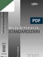Buletinul Standardizarii Octombrie 2010