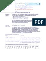 G Level+V2+MaCNVC08+K1+Algebra+&+Functions