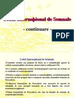 Codul International de Semnale Pavilioane La Saula