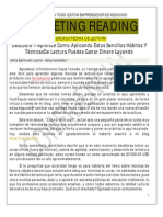 Marketing Reading