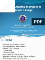 Flood in Jakarta as Impact of Climate Change