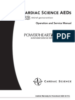 Cardiac Science AED G3 Pro - Service Manual