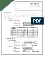 Resume Nimesh Fresher b[1].e.-i.t