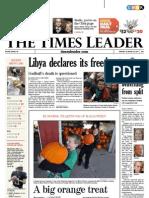 Times Leader 10-24-2011