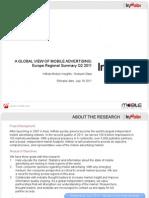 Q2 2011 - Europe Report