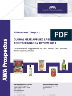 AWA Prospectus Glue Applied Label Market and Technology Review 2011 WEB