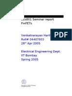 EEs801Seminar_FinFETs_vharihar