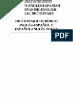 Bja - Va - Diccionario Juridico Ingles EspaÑol y EspaÑol Ingles