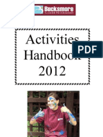Activity Handbook 2012