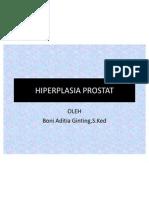 HIPERPLASIA PROSTAT