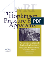 Split-Hopkinson Pressure Bar Apparatus - SWRI