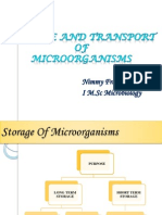 Storage and Transport Of
