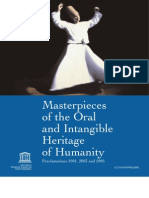 Masterpieces of the Oral and Intangible Heritage of Humanity