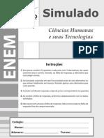 Enem2011 Simulado Ciencias Humanas