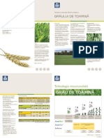 Fertilizare grau YaraMila