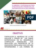 Presentacion de La Paz Organizada