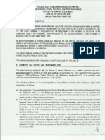 Notes to Financial Statement PDF