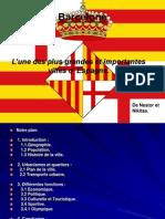 Ville De Barcelone Presentaion