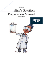 Solution Preparation