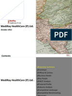 MediRay Healthcare (P). Ltd. - Company Profile 2011