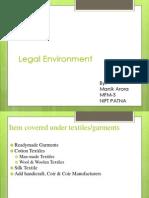 Assgn on Legal Enviroment