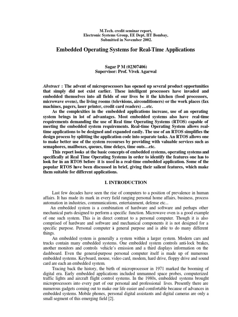 OPERATING SYSTEM-TECHNOLOGY-RESEARCH PAPER-SOFTWARE