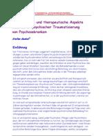 Gunkel (2004) Diagnostische Und Therapeutische Aspekte Sekundärer Psychischer Traumatisierung