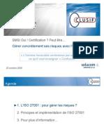 CLUSIF-REX27001-SOLUCOM