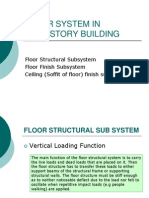 Floor System in Multistory Building