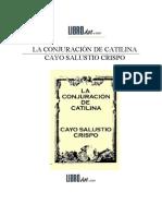 La Conjuracion de Catilina Salustio