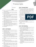Listening Practice Through Dictation 1 Transcripts