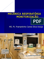 Mecanica respiratória e monitorização