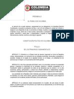 Constitucion Politica Colombia 1991