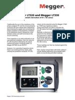 RCDMegger LT320 and Megger LT330 MFT