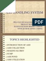 Ash Handling System Final