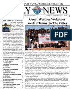MSBL World Series Daily News - Oct 24 2011