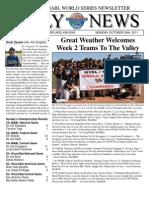 MSBL World Series Daily News - Oct 24 2011