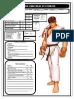 Ficha Ryu