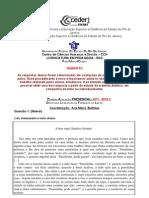 GabaritoAP1Literatura2010.2