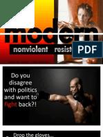 Modern Nonviolent Resistance