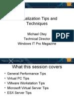 TechX Virtualization Tips