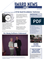 London Newsletter May 2007